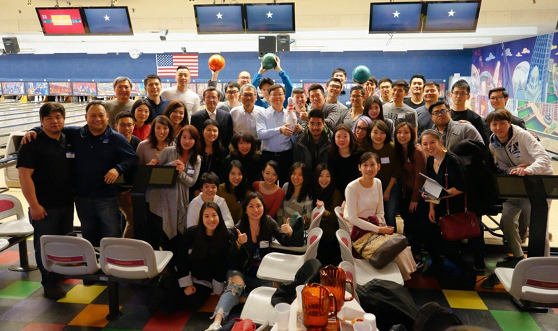 group bowling photo