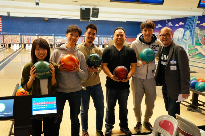 group bowling picture