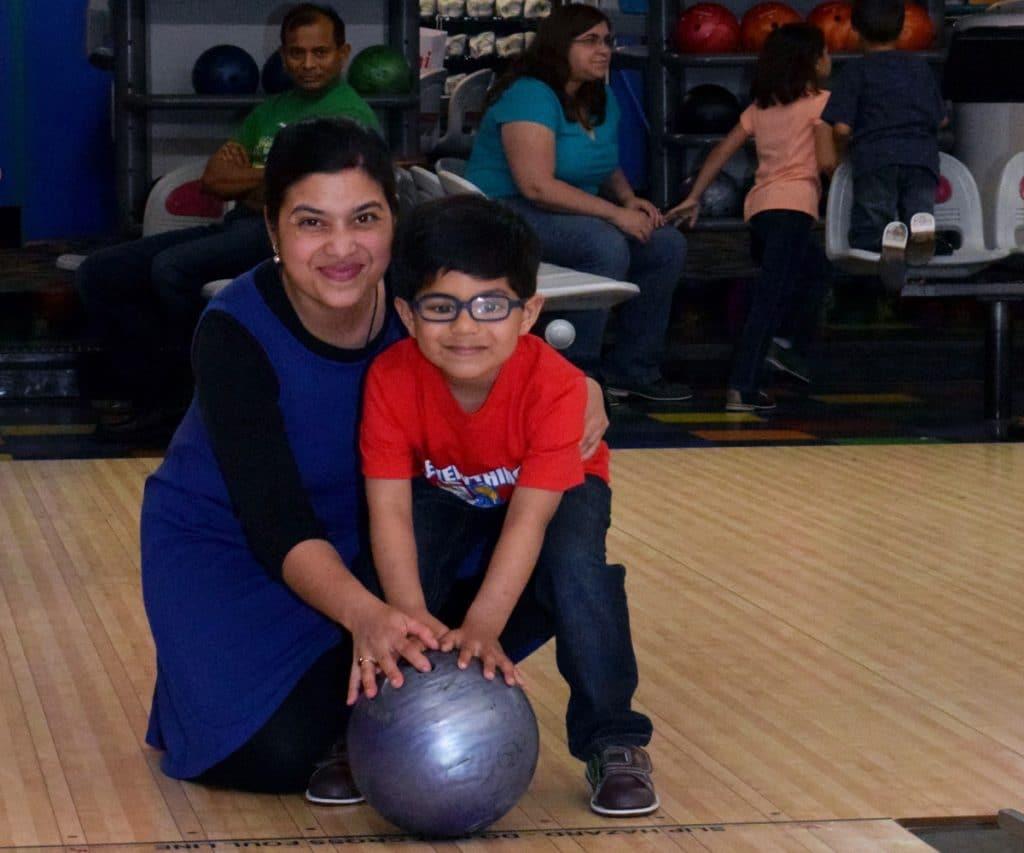 kids bumper bowling